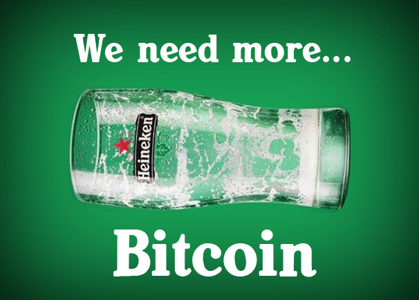 We need more... Bitcoin